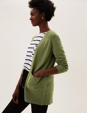 Kadın Yeşil Supersoft Hırka