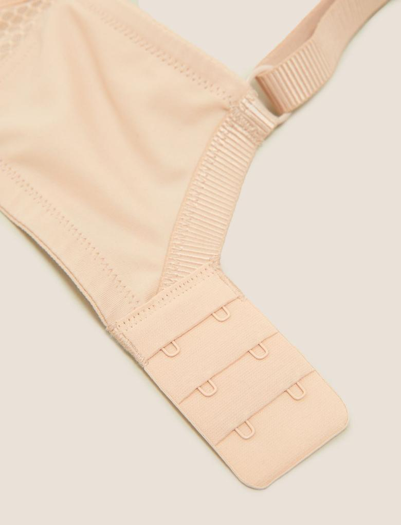 Kadın Siyah 2'li Dantel Detaylı T-Shirt Sütyeni