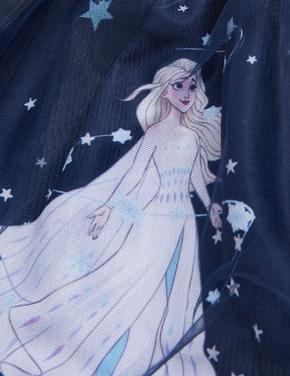 Kız Çocuk Lacivert Frozen™ Tütü Etek (2-10 Yaş)