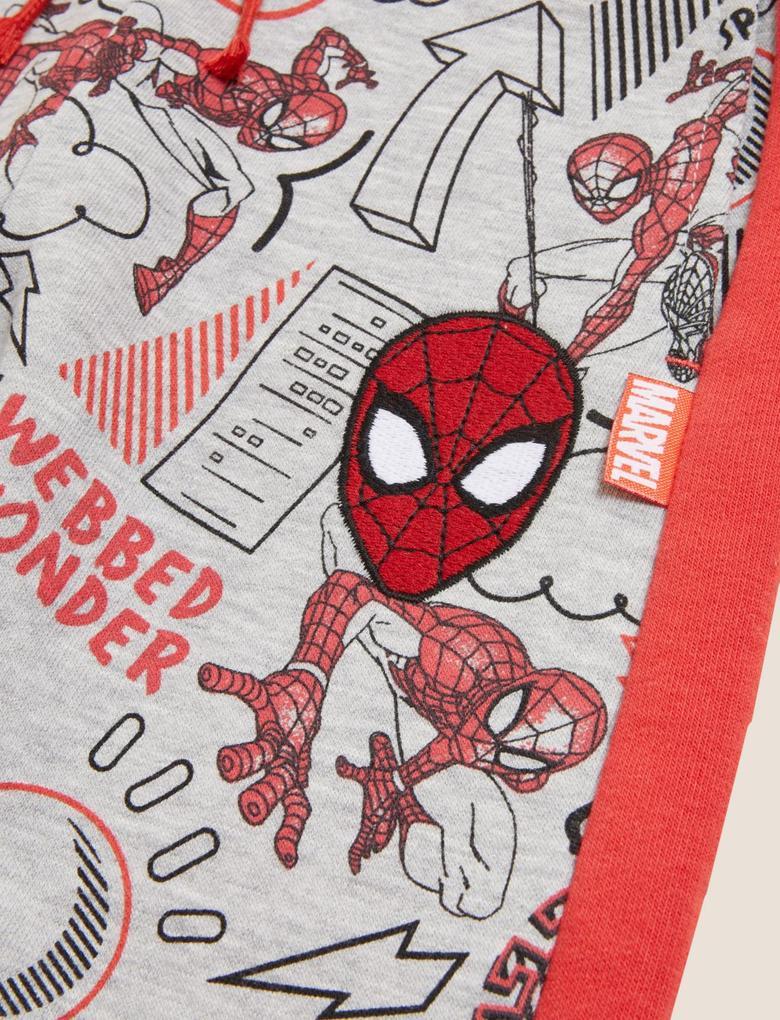 Erkek Çocuk Gri Spider-Man™ Eşofman Altı (2-7 Yaş)
