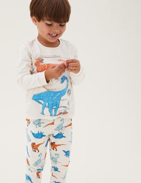 Çocuk Multi Renk Saf Pamuk NHM™ Pijama Takımı (1-7 Yaş)