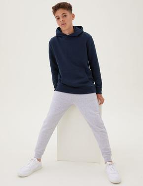Erkek Çocuk Lacivert Kapüşonlu Sweatshirt (6-16 Yaş)
