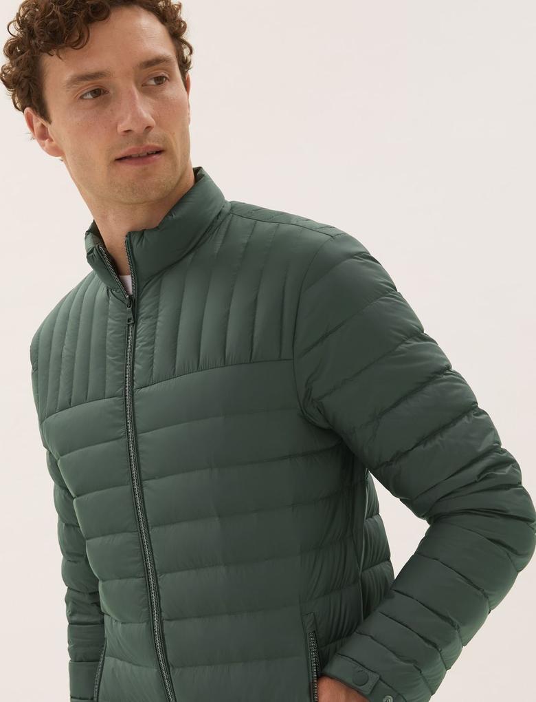 Erkek Yeşil Stormwear Şişme Mont