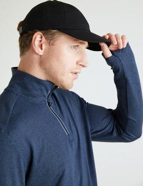 Erkek Lacivert Active Uzun Kollu Sweatshirt