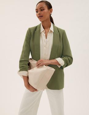 Kadın Yeşil Busy Mum Blazer