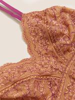 Kadın Kahverengi Balensiz Dantelli Bralet
