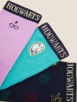 Çocuk Mavi 3'lü Harry Potter™ Çorap