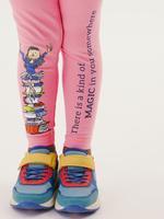 Kız Çocuk Pembe Roald Dahl™ Legging Eşofman Altı (2-7 Yaş)