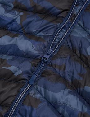 Erkek Çocuk Multi Renk Stormwear™ Kapüşonlu Şişme Mont (6-16 Yaş)
