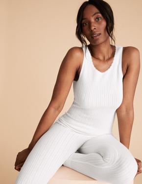 Kadın Beyaz 2'li Termal Atlet