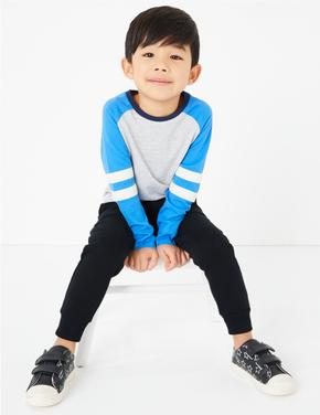 Erkek Çocuk Siyah Regular Fit Eşofman Altı (2-7 Yaş)