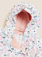 Bebek Krem Stormwear™ Kapüşonlu Tulum (0-3 Yaş)