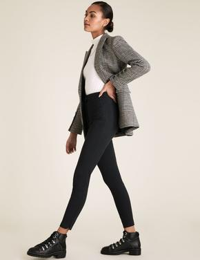 Kadın Siyah Skinny Ankle Grazer Pantolon