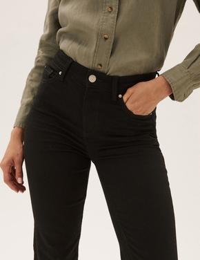 Kadın Siyah Sienna Straight Leg Jean Pantolon