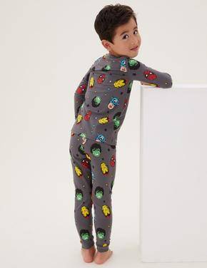 Çocuk Multi Renk Marvel™ Pijama Takımı (3-12 Yaş)