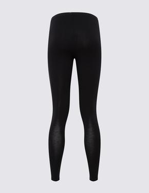 Kadın Siyah Heatgen™ Legging Termal Tayt