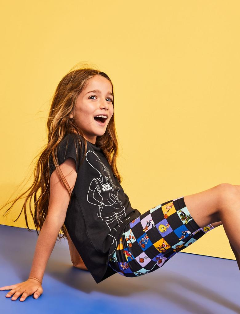 Çocuk Multi Renk Space Jam: A New Legacy™ Pamuklu Pijama Takımı (6-16 Yaş)