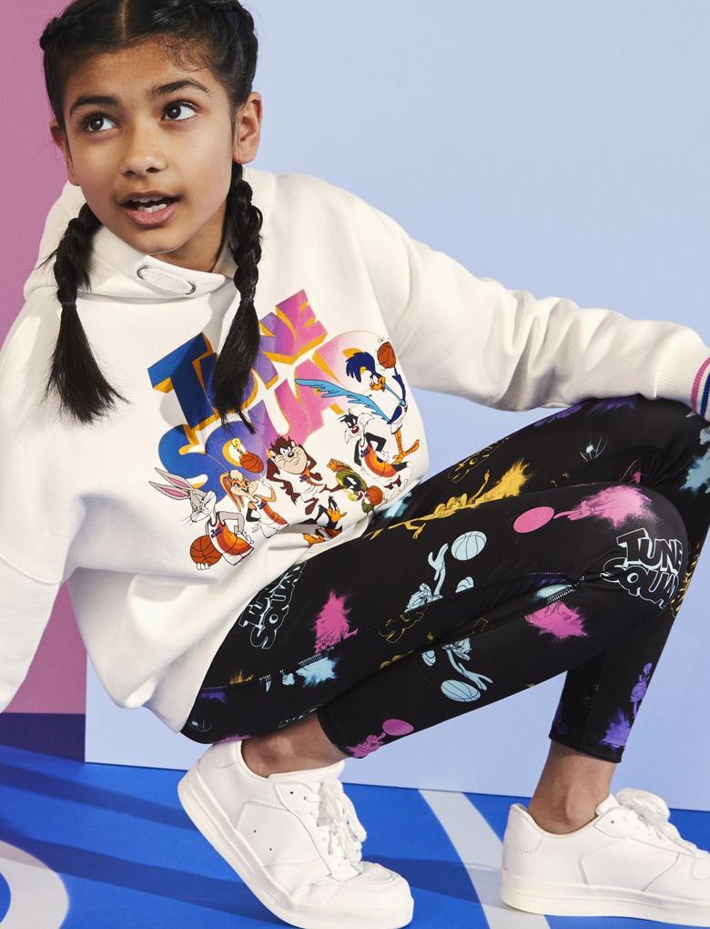Kız Çocuk Multi Renk Space Jam: A New Legacy™ Legging Tayt (6-16 Yaş)