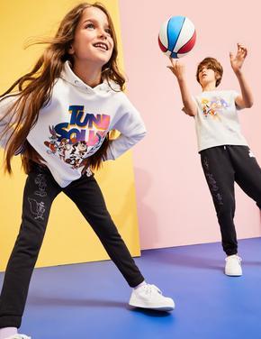 Kız Çocuk Gri Space Jam: A New Legacy™ Eşofman Altı (6-16 Yaş)