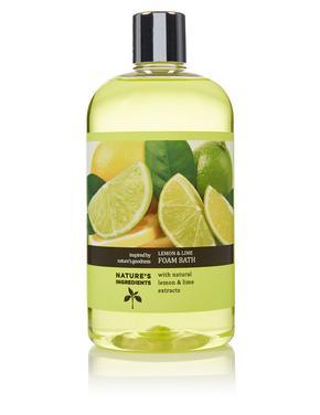 Kozmetik Renksiz Lime ve Limon Özlü Banyo Köpüğü