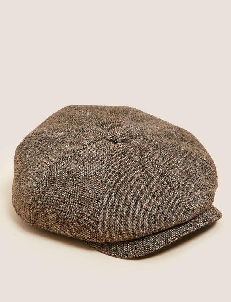Erkek Renksiz Thermowarmth™ Yünlü Dokulu Şapka