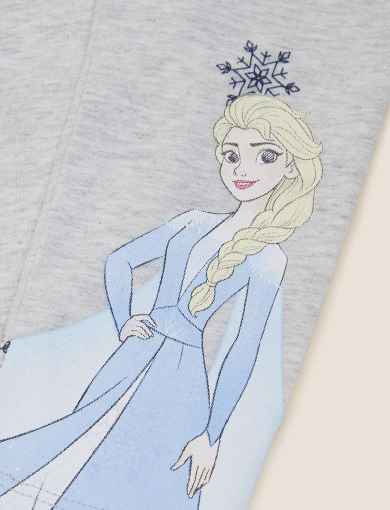 Kız Çocuk Multi Renk 2'li Disney Frozen™ Legging Tayt (2-10 Yaş)