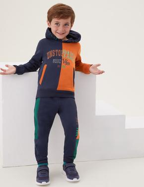 Erkek Çocuk Multi Renk Renk Bloklu Alt-Üst Takım (2-7 Yaş)
