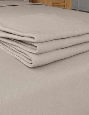 Ev Kahverengi Ütü Gerektirmeyen Saf Egyptian Cotton Çarşaf