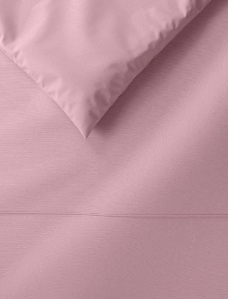 Ev Pembe Ütü Gerektirmeyen Saf Egyptian Cotton (Mısır Pamuğu) Yorgan Kılıfı