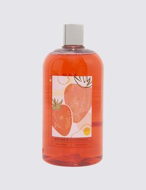 Kozmetik Renksiz Çilek Özlü Banyo Köpüğü