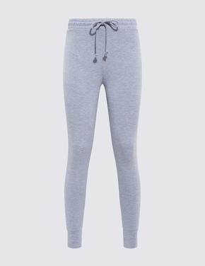 Kadın Mavi Flexifit Legging Pijama Altı