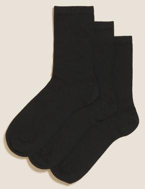 Kadın Siyah 3'lü Termal Çorap Seti