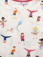 Çocuk Multi Renk 2'li Uzun Kollu Pijama Takımı