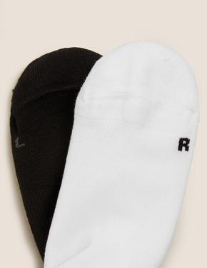 Kadın Beyaz 2'li Fitil Detaylı Çorap Seti