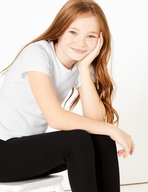Çocuk Beyaz 2'li Kısa Kollu Termal Atlet (1-16 Yaş)