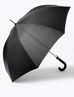 Erkek Siyah Windtech™ Büyük Şemsiye