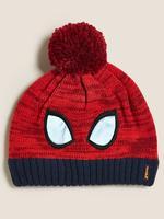 Çocuk Kırmızı Spider-Man™ Ponponlu Bere (1-6 Yaş)