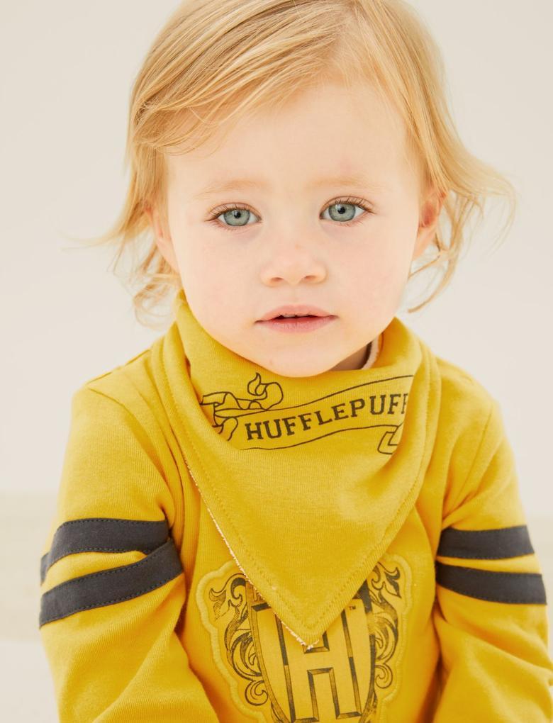 Bebek Sarı Saf Pamuklu Harry Potter™ 2'li Uyku Tulumu (0-3 Yaş)