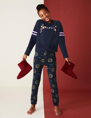 Çocuk Lacivert Harry Potter™ Pijama Takımı