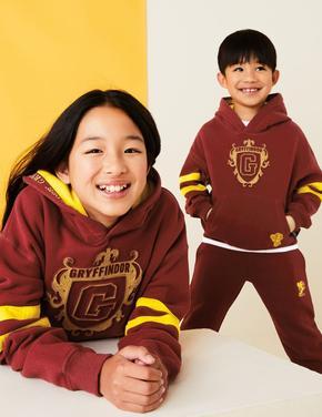 Erkek Çocuk Bordo Harry Potter™ Kapüşonlu Sweatshirt
