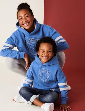 Erkek Çocuk Mavi Harry Potter™ Kapüşonlu Sweatshirt