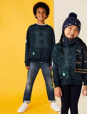 Erkek Çocuk Lacivert Harry Potter™ Sweatshirt (2-16 Yaş)