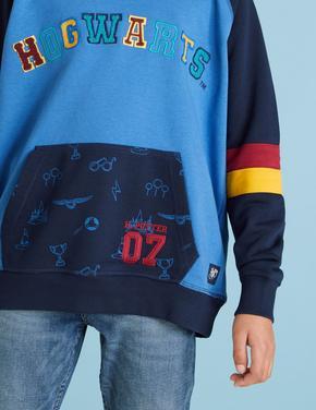 Erkek Çocuk Multi Renk Harry Potter™ Kapüşonlu Sweatshirt (6-16 Yaş)
