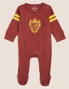 Bebek Kırmızı Saf Pamuklu Harry Potter™ 2'li Uyku Tulumu (0-3 Yaş)