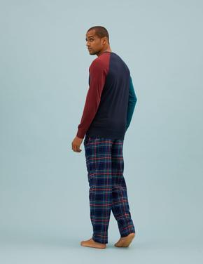 Erkek Multi Renk Saf Pamuklu Harry Potter™ Pijama Takımı
