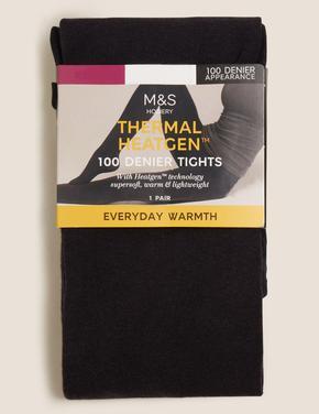 Kadın Lacivert 100 Denye Termal Opak Külotlu Çorap